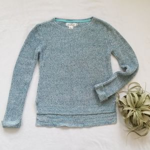 H&M Icy Blue Sparkle Girls Sweater